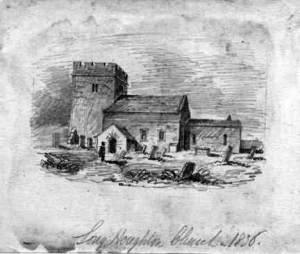 Longhoughton Church c. 1836