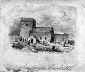 Longhoughton Church c. 1836
