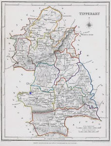 Map showing Solloghodmore, Tipperary