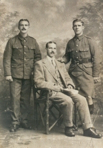 Robert, James and Sam Smith. Glasgow 1914