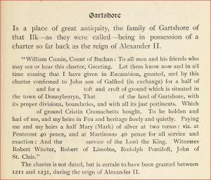 Gartshore Land Grant