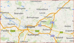Kirkintilloch and Glasgow