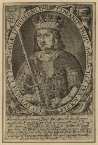 Engraving of Edward I