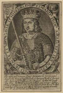 Engraving of Edward I