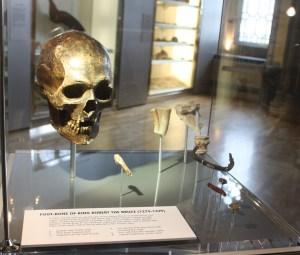 Skull Cast of Robert the Bruce