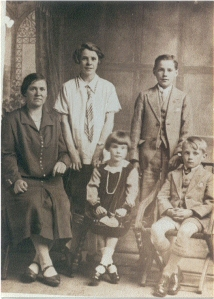 Mary, James, Marion, Daniel (bottom)