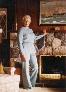 Marg Fireplace Portrait c1965