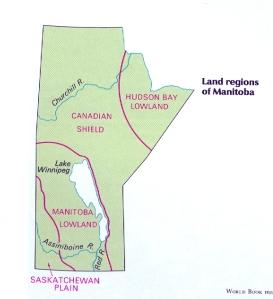 Manitoba Land Regions
