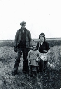 George, Heather and Sheila Phillips c.1836