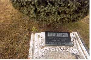 Headstone, George Phillips, Magnet, MB. 2007