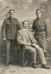 Robert, James and Sam Smith 1914