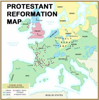 Europe after the Reformation