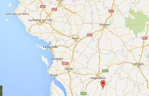 Nantieul de Bourzac (red dot)