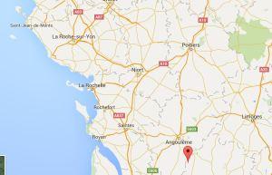 Nantieul de Bourzac (red dot)
