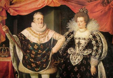 Henri iv and Marie de Medici marriage
