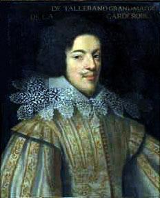 Henri de Talleyrand-Perigord Comte de Chalais