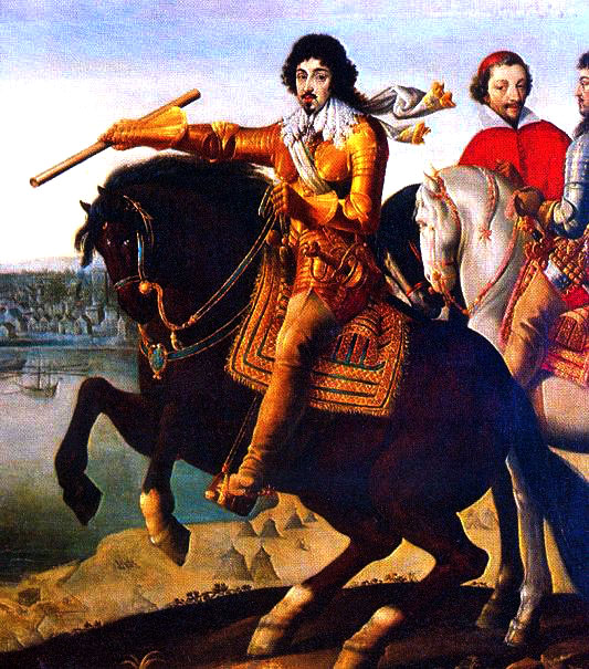 Louis and Richelieu at La Rochelle