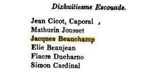 Jacques in the Militia 1663.JPG