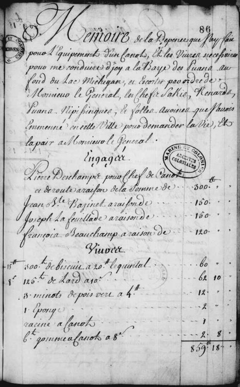 Francois B. Voyageur contract 2