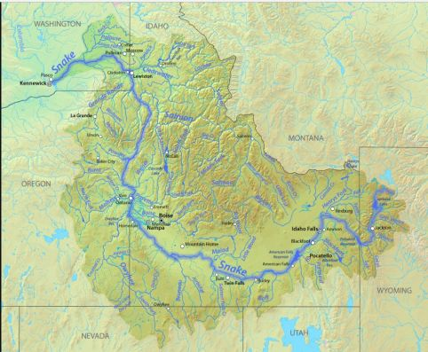 Snake River Map Wikimedia Commons